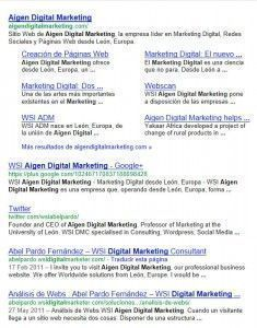 Aigen Digital Marketing en Google