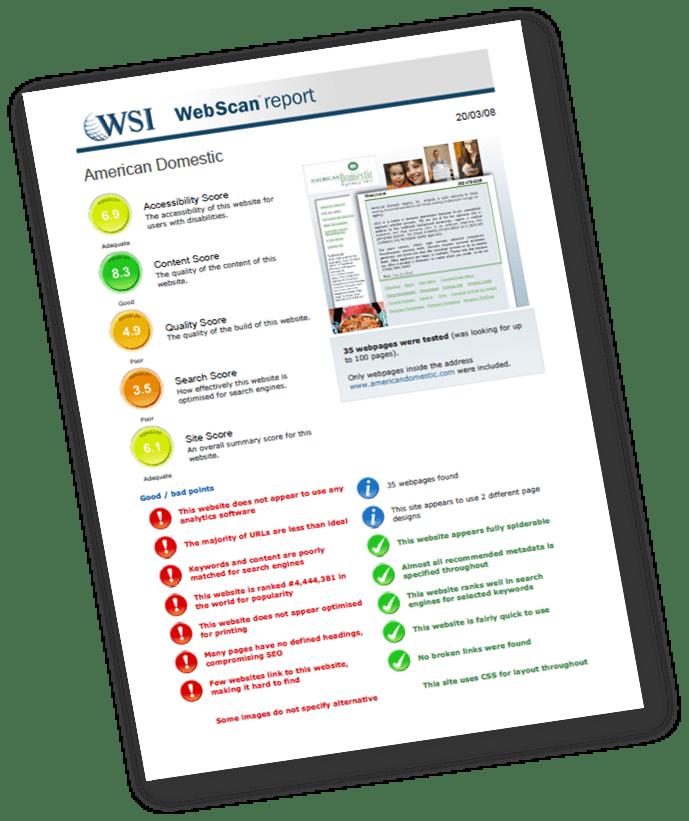 Análisis de Páginas Web desde León, Europa