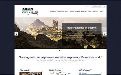 Aigen Digital Marketing Portada