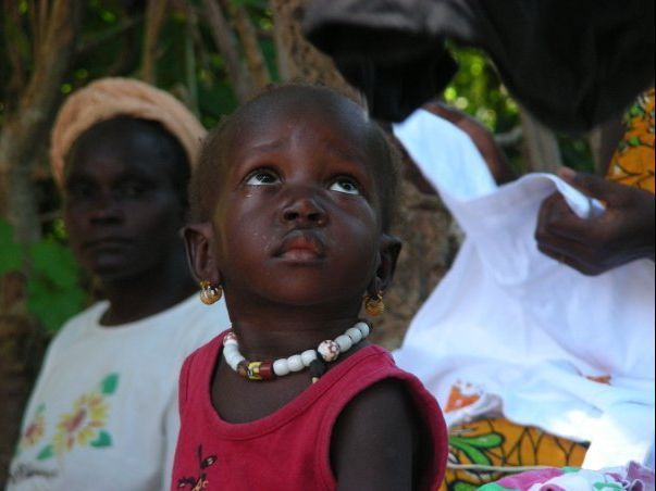Niña de Senegal