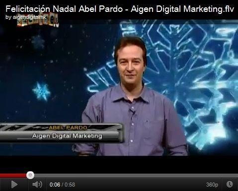 Felicitación de Navidad de Abel Pardo en TV León