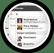 Gmail permite enviar mensajes a usuarios de Google+
