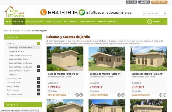 casas madera baratas