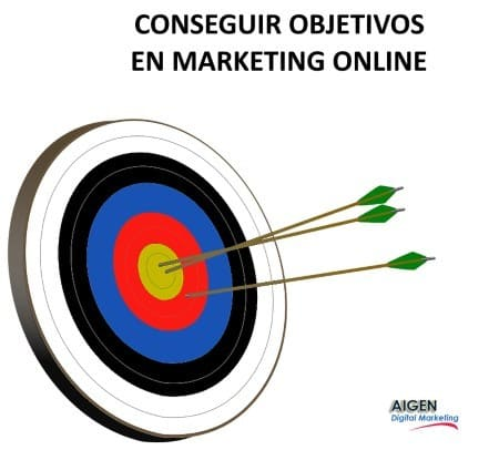 Conseguir objetivos en Marketing Online